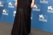 Andrea Riseborough Long Skirt