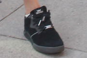 Cara Delevingne Leather Sneakers