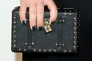Sami Gayle Studded Clutch