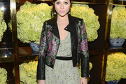 Michelle Trachtenberg Leather Jacket