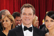 Matt Damon Short Wavy Cut