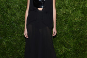 Constance Jablonski Sheer Dress