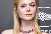Elle Fanning Half Up Half Down