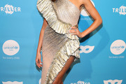 Olivia Culpo One Shoulder Dress