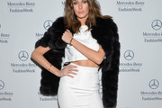 Nicole Trunfio Fur Coat