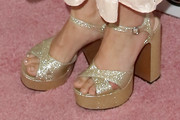 Drew Barrymore Platform Sandals