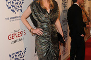 Elaine Hendrix Beaded Dress