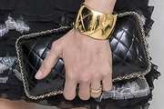 Chloe Sevigny Quilted Clutch
