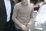 Justin Long Crewneck Sweater