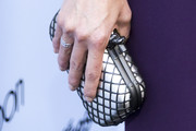 Jessica Pare Metallic Clutch