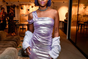Justine Skye One Shoulder Dress