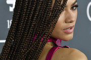 Zendaya Coleman Long Braided Hairstyle