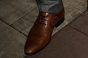 Xavier Samuel Flat Oxfords