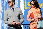 Brian Hallisay V-neck Sweater