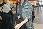 Lily Collins Cardigan