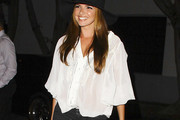 Nadine Coyle Loose Blouse