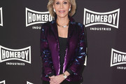 Jane Fonda Sequined Jacket