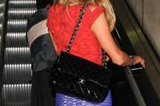Paris Hilton Quilted Leather Bag