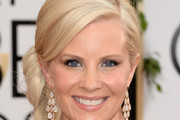 Monica Potter Side Swept Curls