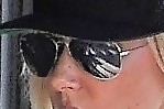 Kimberly Stewart Aviator Sunglasses
