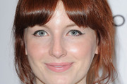 Alice Levine Bobby Pinned Updo