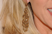 Deborah Norville Gold Chandelier Earrings