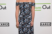 Abby Elliott Off-the-Shoulder Dress