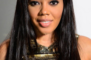 Angela Simmons Long Straight Cut