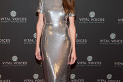 Allison Williams Form-Fitting Dress