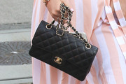 Bella Thorne Quilted Leather Bag