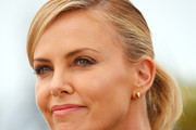 Charlize Theron Ponytail