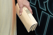 Demi Moore Leather Clutch