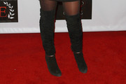 Pamela Bach Over the Knee Boots