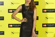 Hiba Abouk Leather Dress