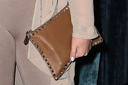 Iskra Lawrence Studded Clutch
