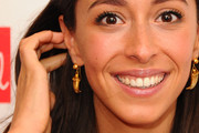 Oona Chaplin Gold Dangle Earrings