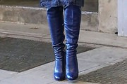 Blake Lively Over the Knee Boots