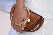 Solange Knowles Leather Clutch