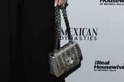Lisa Vanderpump Metallic Purse