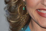 Elaine Hendrix Gold Dangle Earrings