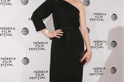 Judy Greer One Shoulder Dress