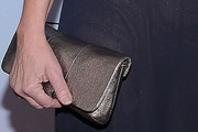 Leslie Urdang Metallic Clutch