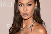 Joan Smalls Long Partially Braided