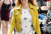 Kelly Preston Leather Jacket