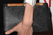 Angelina Jolie Leather Clutch