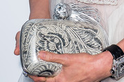 Michelle Yeoh Printed Clutch