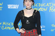 Maisie Williams Fitted Blouse