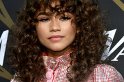 Zendaya Coleman Long Curls with Bangs