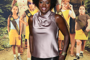 Viola Davis Cowl Neck Top