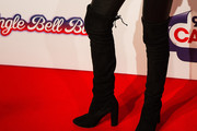 Carly Rae Jepsen Over the Knee Boots